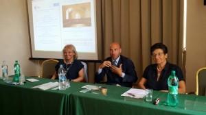 Con il Vicepresidente del PSE e la Prof.ssa Arianna Montanari Summer School ISA AIS giugno 2015